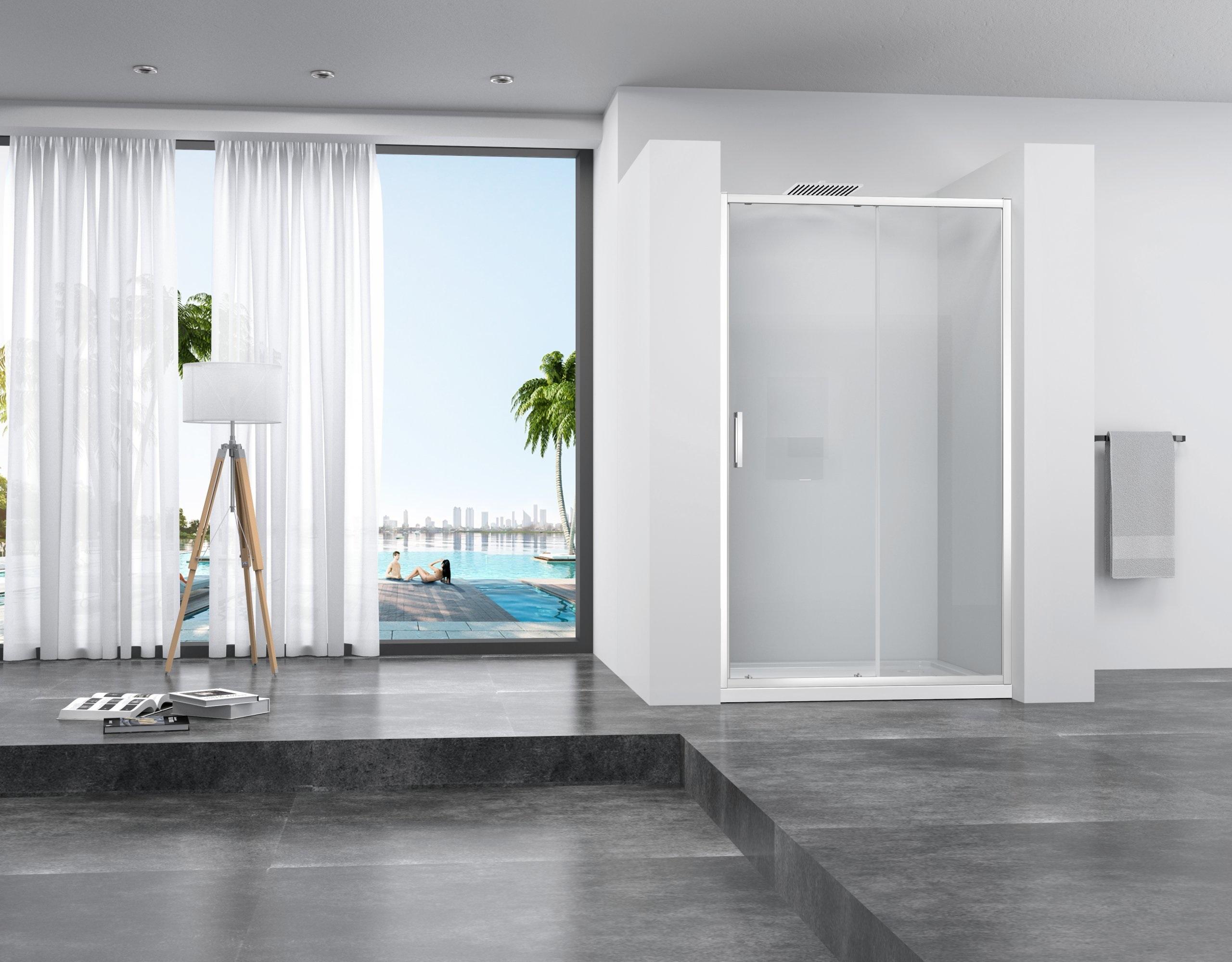 9c979bfa37 Sprchové dvere SLIDE PRO 140 cm
