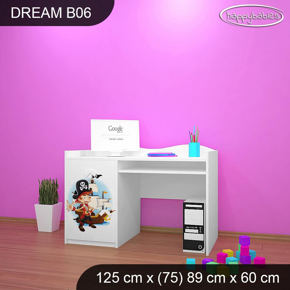 f69b78761b99b Detský písací stôl MALÝ PIRÁT - TYP 6 | e-shop Maxmax.sk