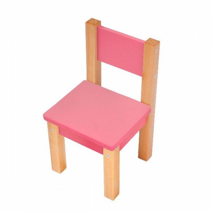 59e3ef190088 Sada detských stoličiek Lily - ružová ...