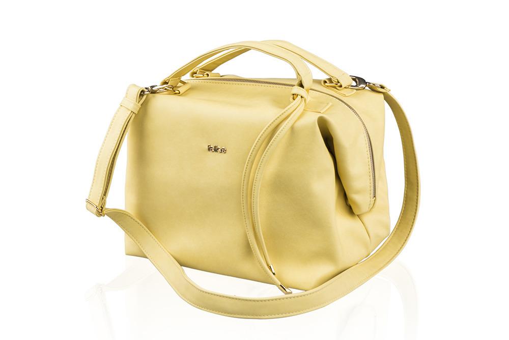 9a5c2e69e Dámska kabelka CAROL - žltá | e-shop Maxmax.sk