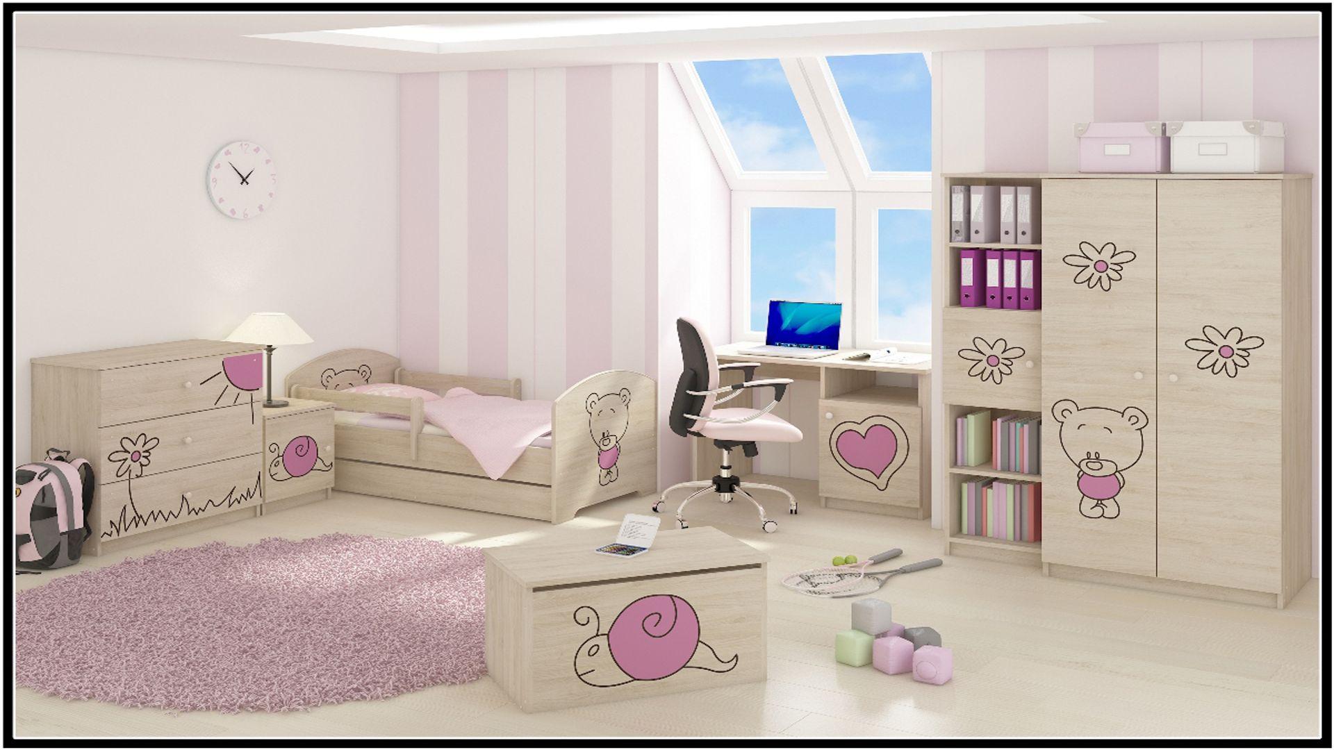 e9fc5ccc356b Detské izby - zostava MÉĎA - ružová