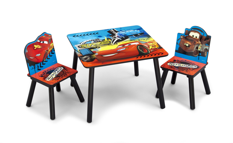 ef27854d133b Detský stôl s stoličkami Cars II