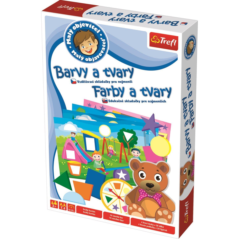 ce08406a3 Hra Malý objaviteľ: Farby a tvary   e-shop Maxmax.sk