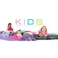 Plyšový detský koberec BÉŽOVÝ