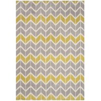 Koberec Asiatic Fashion Floors - Arlo AR06 Chevron Lemon / Grey