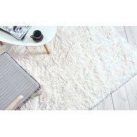 Detský plyšový koberec MAX BIELY-ECRU