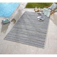 Vonkajší kusový koberec Lotus Meliert - modro-šedý