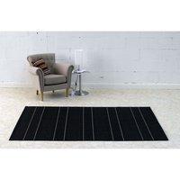 Kusový koberec Sunshine - čierny