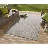 Kusový koberec Meadow Karo - sivý