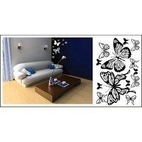 Samolepky na stenu Motýle COLOR - vzor 3