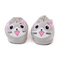 Plyšové papuče KIGU - mačka