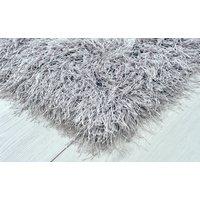 Kusový koberec Shaggy MAX inspiration - sivý