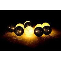 Bavlnené svietiace guličky LED