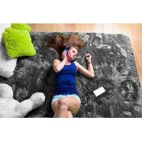 Detský plyšový koberec GRAFIT