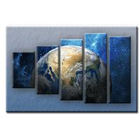 Päťdielny OBRAZ na plátne KRAJINA - vzor 9