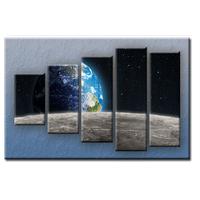 Päťdielny OBRAZ na plátne EARTH - vzor 10