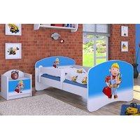 Detská posteľ bez šuplíku 160x80cm BOŘEK STAVITEL