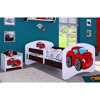 Detská posteľ bez šuplíku 180x90cm RED CAR