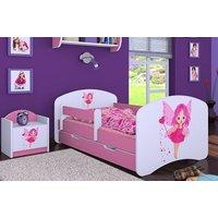 Detská posteľ so zásuvkou 160x80cm VÍLA