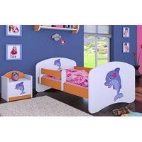 Detská posteľ bez šuplíku 180x90cm DELFÍN