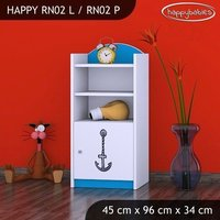 Detský úložný regál lodičky - TYP 2 - NÍZKY