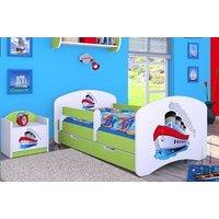 Detská posteľ so zásuvkou 160x80cm lodičkou