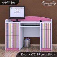 Detský písací stôl PRÚŽKY - TYP 1