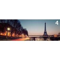 Obraz na plátne PANORAMA PARIS - vzor 4