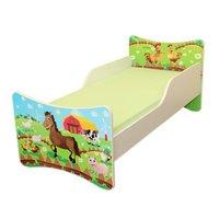 Detská posteľ 140x70 cm - FARMA