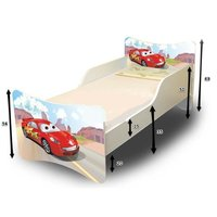 Detská posteľ 160x80 cm - AUTA II.