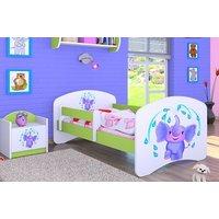 Detská posteľ bez šuplíku 180x90cm sloník