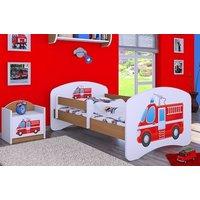 Detská posteľ bez šuplíku 160x80cm HASIČI
