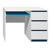 Písací stôl - CITY TYP A - tmavo modrá