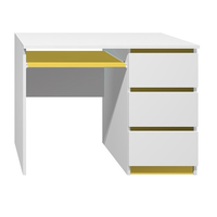 Písací stôl - CITY TYP A - žltá