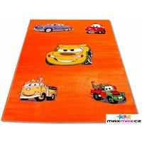 Detský koberec CARS ORANGE