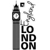 Samolepky na stenu MESTA XXL color - LONDON