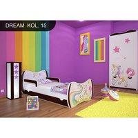 Detská posteľ so zásuvkou 140x70 Jednorožec A DUHA + matrace ZADARMO!