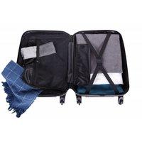 Cestovný kufor MILANO - čierny