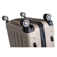 Cestovné kufre BERLIN - zlaté