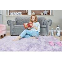 Detský plyšový koberec MAX levanduľový