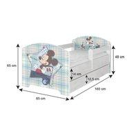 SKLADOM: Detská posteľ Disney - VIOLETTA 160x80 cm