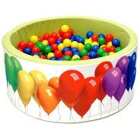 Detský molitanový bazénik + guličky ZDARMA (balóniky)