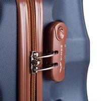 Moderné cestovné kufre ARROW - svetlo béžovej