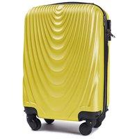 Moderné cestovné kufre Cáder - žlté