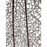 Závesné hojdacie kreslo CYPRUS hnedé