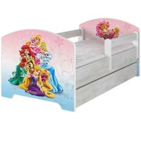 Detská posteľ so zásuvkou Disney PALACE PETS - 160x80 cm