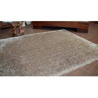 Kusový koberec SHAGGY LOVE - svetlohnedý
