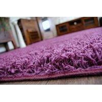 Kusový koberec SHAGGY - fialový