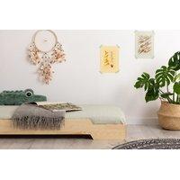 SKLADOM: Detská posteľ z masívu BOX model 8 - 200x90 cm