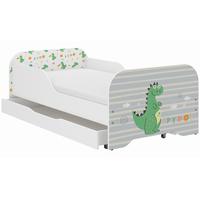 Detská posteľ KIM - DINO 160x80 cm
